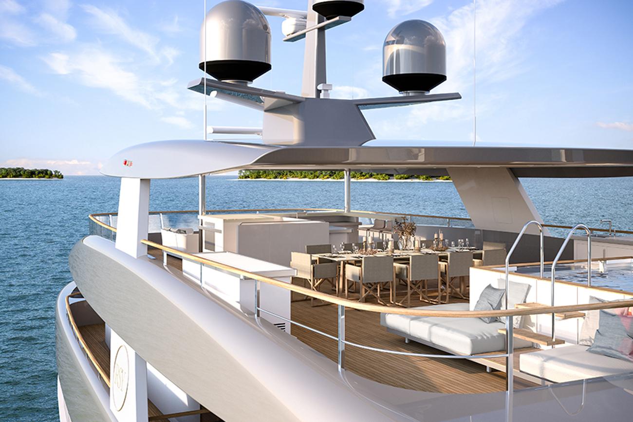 Rosetti Superyacht 50M
