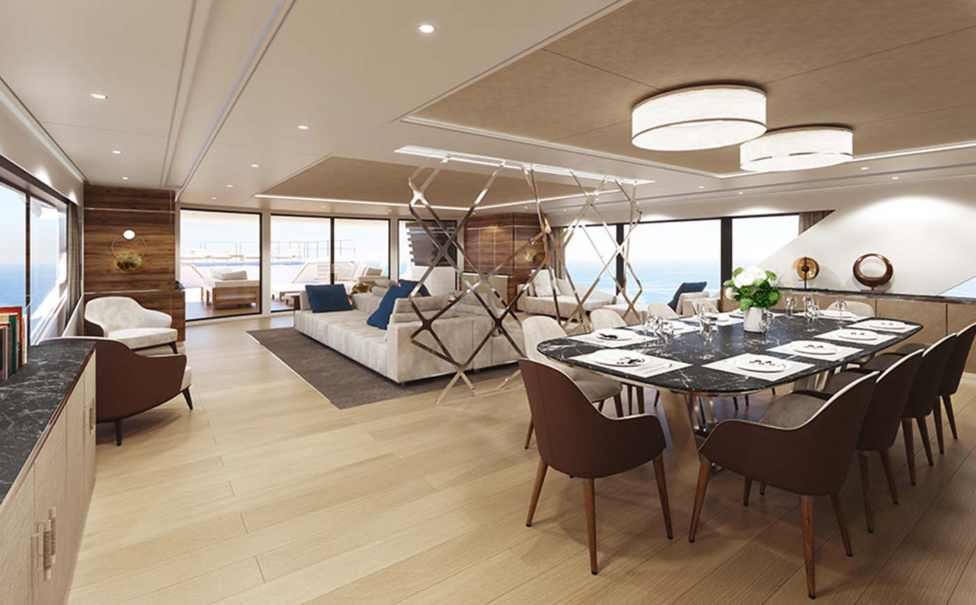 Rosetti Superyacht 52M