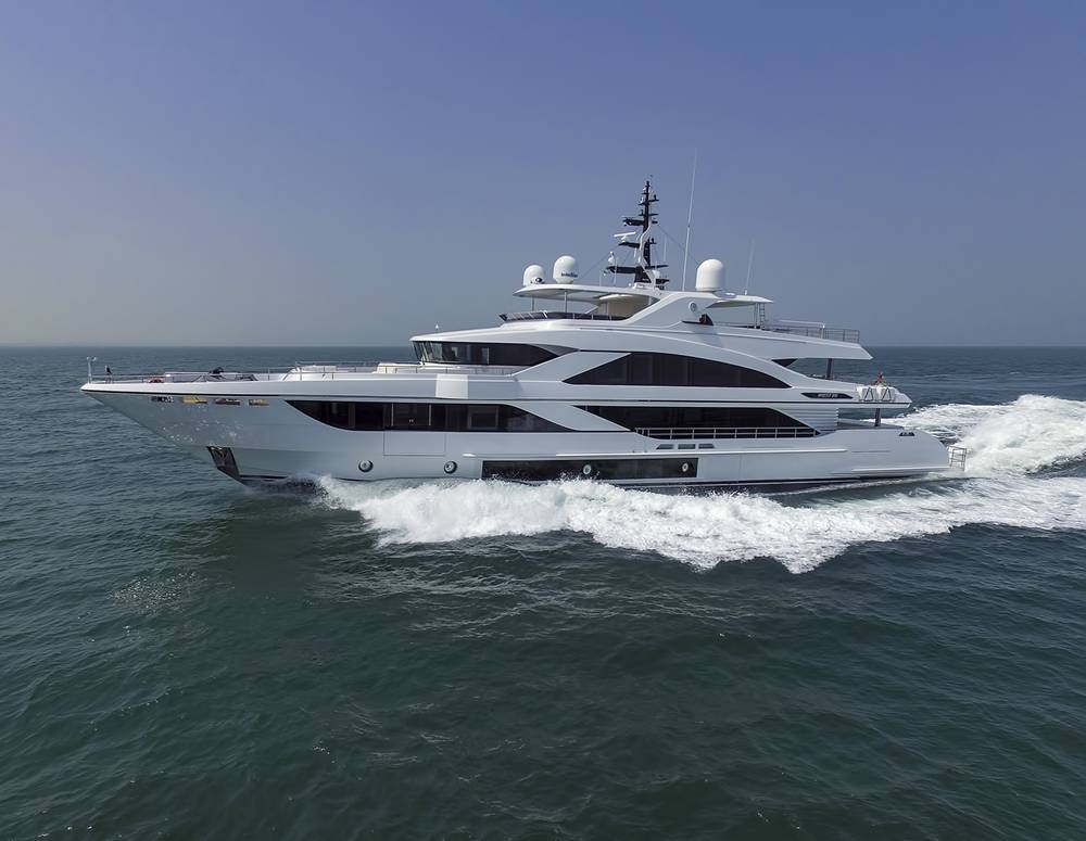 Gulf Craft Delivers its latest 43m Majesty 140