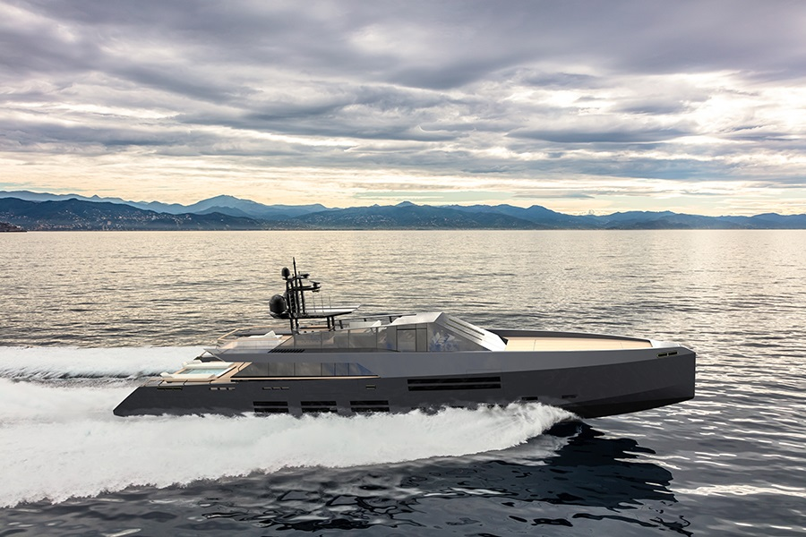 New 165 Wallypower unveiled: a Espen Øino and Luca Bassani collaboration on 50m Wally