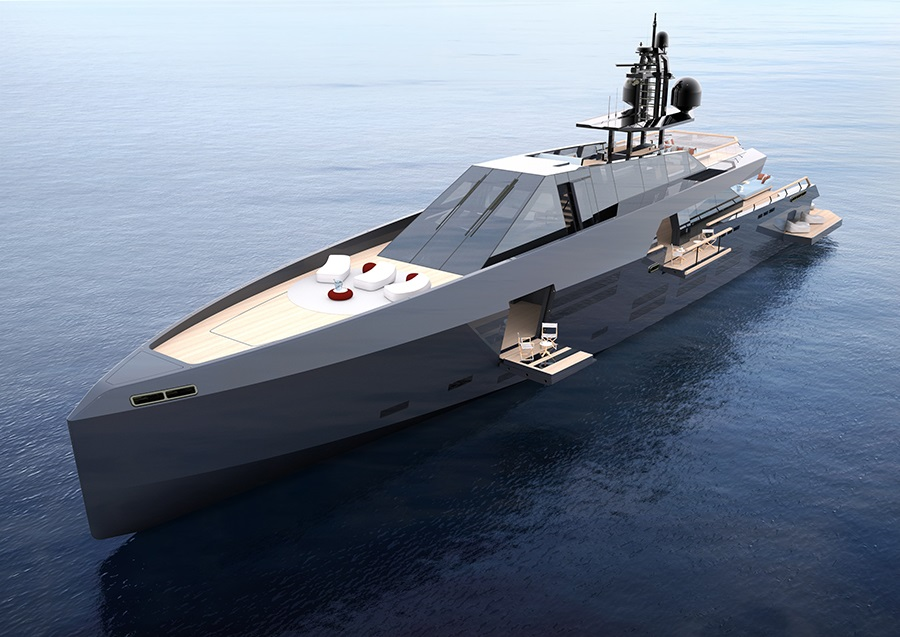 New 165   Wallypower unveiled: a Espen Øino and Luca Bassani collaboration on 50m Wally - Yachts News by Phoenician Boat