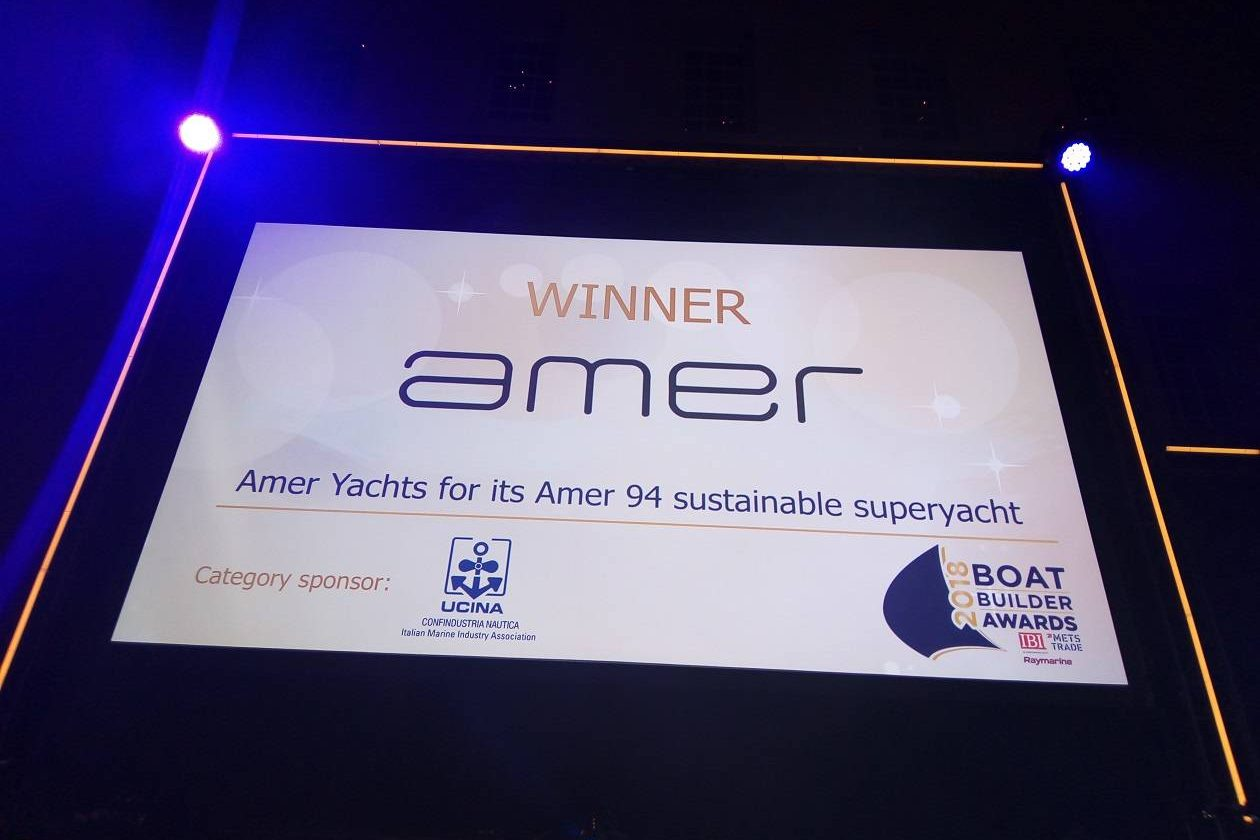 Three international nominations for Amer Yachts