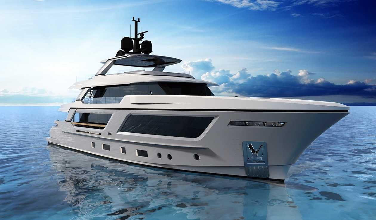 Cantiere Delle Marche sells 35m MG 115 - Superyachts News Phoenician Boat