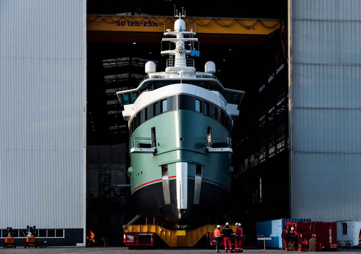 First SeaXplorer yacht launched by Damen - Yacht News Phoenician Boat